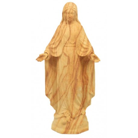 Our Lady of Grace Immaculate in wood - olive