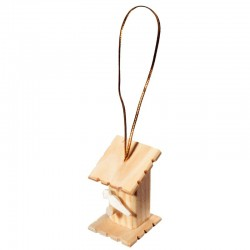 Wooden Bird-House - natural