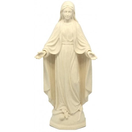 Our Lady of Grace Immaculate in wood - natural