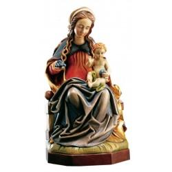 Madonna des Lichtes - Dolfi Madonna Holz Antik, diese Holzfigur von echten Grödner Holzschnitzer