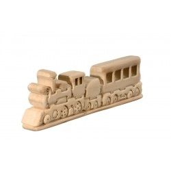 Educativo puzzle tridimensionale treno