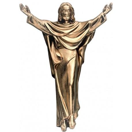 Cristo Re in fibra di vetro