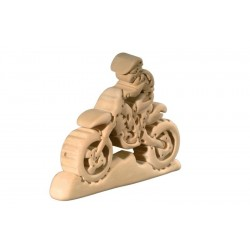 The Motocross 3D Wooden Puzzle