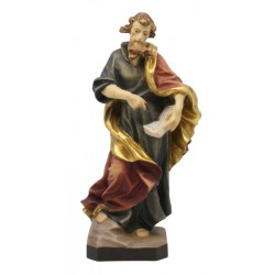 Heiliger Matthäus mit Buch und Schwert - lasiert