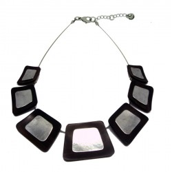 Wooden Necklace Natural