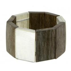Wooden Bracelet Natural-Chic - Dolfi Kids Gift Ideas - Made in Italy