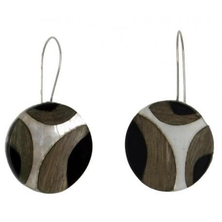 Ohrringe aus Dolfi Holzschmuck