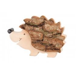 Igel aus Rinde 7,5 cm