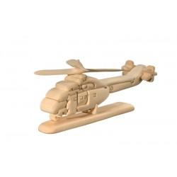 Elicottero Puzzle 3D in legno