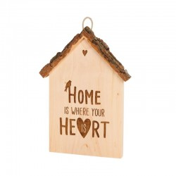 Home is where your heart is, Rindenhaus 18 cm