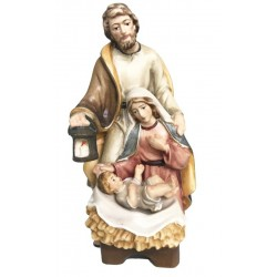 Holy Family - lightly colored with oil paint