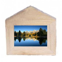 Wooden Photo natural Frame