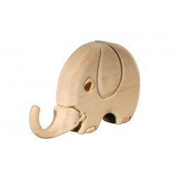 Elephant 3D Puzzle in wood