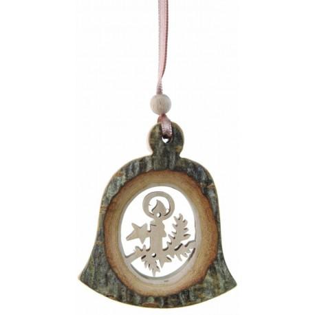 Addobbo di legno a campanella