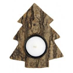 Baum mit Teelicht Weihnachtsdeko