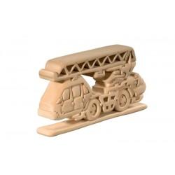 Feuerwehr 3D Puzzle Holz