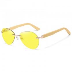 Sonnenbrille mit Holzbügel