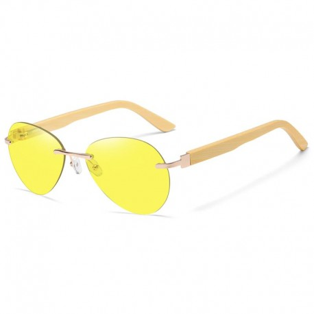 Sunglasses with Wooden Temples Unisex - Polarized - Dolfi handmade Wooden Sunglasses - Made in Italy