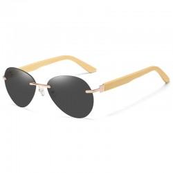 Sonnenbrille mit Holzbügeln unisex
