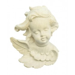 Head of Angel Carve in wood