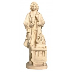 Pharmacist carved in maple wood and - natural