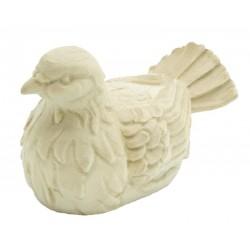 Taube aus Ahornholz geschnitzt, Dolfi Valentinstag Geschenke, Original Südtiroler Holzschnitzereien - Naturbelassen