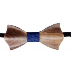 Holzfliege - Papillon blau - Dolfi Holzfliege kaufen, diese Kreation ist in Gröden hergestellt