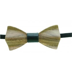 Wood Papillon in Black
