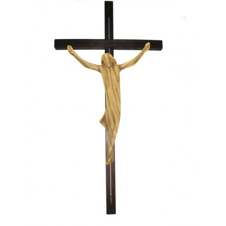 Christuskörper und Balken gerade - Olive
