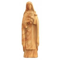 Heilige Teresa von Lisieux aus Holz - Olive