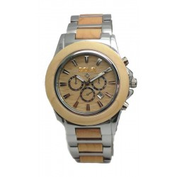 Wooden Watch in wood and Steel - Pike