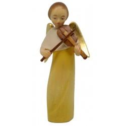 Moderner Engel mit Violine - lasiert