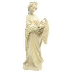 Heilige Katharina aus Holz geschnitzt