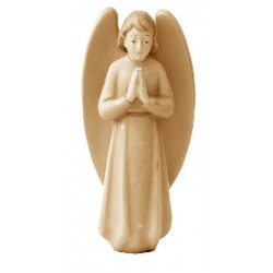 Gloria Angel carved in wood - stained 3 col.