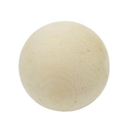 Ball of pinewood