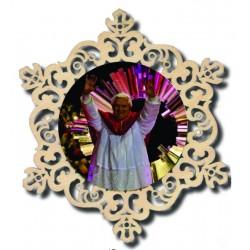 Addobbo a cerchio con Papa Benedetto XVI