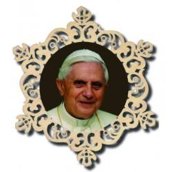 Kreis mit Papst Benedikt Xiv