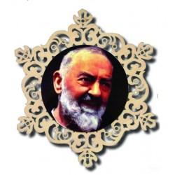 Kreis mit Hl. Padre Pio