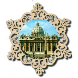 Kreis mit St. Peter Basilica