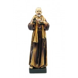 St Padre Pio from Pietrelcina in Paste of wood - Dolfi Catholic Statues Near Me - Made in Italy