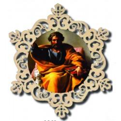 Kreis mit Heiliger Petrus