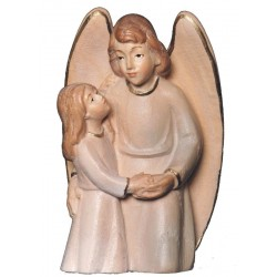 The Guardian Angel with Girl