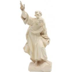 Heiliger Paulus aus Holz - Natur