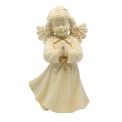 Praying Angel carved in maple wood