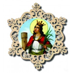Ornament of Santa Barbara