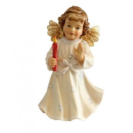 Angioletto in legno e candela