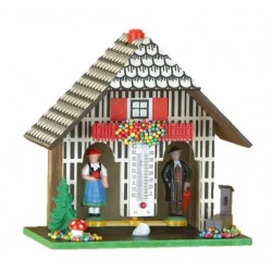 Vintage Hansel and Gretel weather house