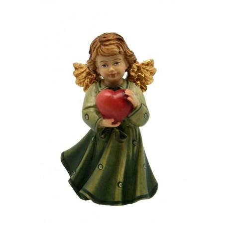 Angelo verde con cuore