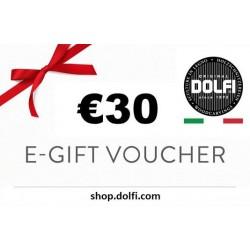 Geschenk Gutschein zum verschenken 30€