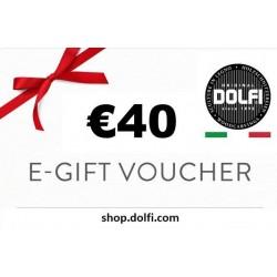 Geschenk-Gutschein DOLFI 40€
